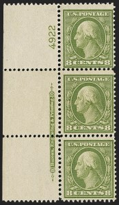 Sale Number 1148, Lot Number 137, Eight-Cent Olive Green (Scott 363)8c Olive Green, Bluish (363), 8c Olive Green, Bluish (363)