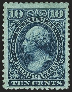Sale Number 1149, Lot Number 303, Proprietary Later Issues10c Blue, Proprietary (RB19b), 10c Blue, Proprietary (RB19b)