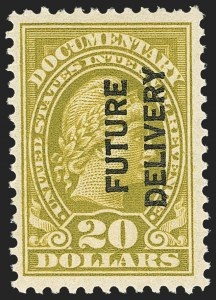Sale Number 1149, Lot Number 307, Future Delivery$20.00 Olive Bister, Future Delivery (RC15), $20.00 Olive Bister, Future Delivery (RC15)