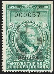 "Sale Number 1149, Lot Number 382, Green Stock Transfer: 1948-1952 Ovpts.$2,500.00 Bright Green, ""Series 1950"" Ovpt., Stock Transfer (RD336), $2,500.00 Bright Green, ""Series 1950"" Ovpt., Stock Transfer (RD336)"