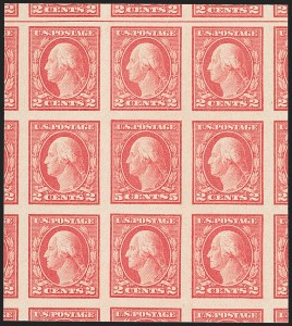 Sale Number 1150, Lot Number 1074, 1917-20 Issues (Scott 485-550)5c Carmine, Imperforate, Error (485), 5c Carmine, Imperforate, Error (485)