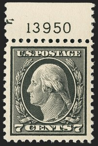 Sale Number 1150, Lot Number 1081, 1917-20 Issues (Scott 485-550)7c Black (507), 7c Black (507)