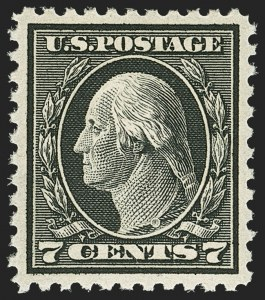 Sale Number 1150, Lot Number 1082, 1917-20 Issues (Scott 485-550)7c Black (507), 7c Black (507)