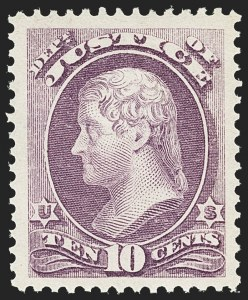 Sale Number 1150, Lot Number 1160, Officials: Agriculture thru Post Office10c Justice (O29), 10c Justice (O29)