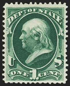 Sale Number 1150, Lot Number 1175, Officials: State Department1c State (O57), 1c State (O57)
