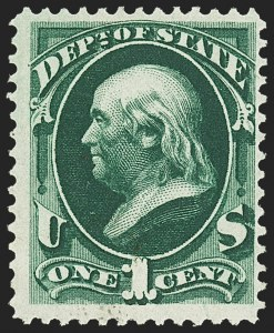 Sale Number 1150, Lot Number 1176, Officials: State Department1c State (O57), 1c State (O57)