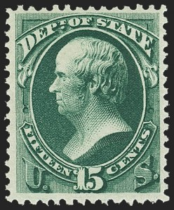 Sale Number 1150, Lot Number 1177, Officials: State Department7c, 15c State (O61, O64), 7c, 15c State (O61, O64)