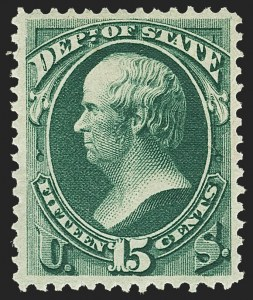 Sale Number 1150, Lot Number 1185, Officials: State Department15c State (O64), 15c State (O64)