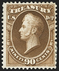 Sale Number 1150, Lot Number 1194, Officials: Treasury thru War1c-90c Treasury (O72-O82), 1c-90c Treasury (O72-O82)