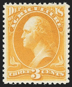 Sale Number 1150, Lot Number 1218, Officials: Soft Paper Printings3c Agriculture, Soft Paper (O95). Mint N.H, 3c Agriculture, Soft Paper (O95). Mint N.H
