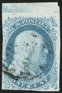 Sale Number 1150, Lot Number 537, 1c 1851-56 Issue (Scott 5-9)1c Blue, Ty. Ib (5A), 1c Blue, Ty. Ib (5A)