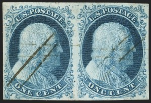 Sale Number 1150, Lot Number 540, 1c 1851-56 Issue (Scott 5-9)1c Blue, Ty. Ib (5A), 1c Blue, Ty. Ib (5A)