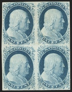 Sale Number 1150, Lot Number 559, 1c 1851-56 Issue (Scott 5-9)1c Blue, Ty. IV (9), 1c Blue, Ty. IV (9)