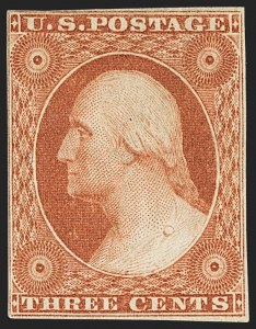 Sale Number 1150, Lot Number 563, 3c-5c 1851-56 Issue (Scott 11-12)3c Orange Brown, Ty. II (10A), 3c Orange Brown, Ty. II (10A)