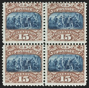 Sale Number 1150, Lot Number 729, 1c-24c 1869 Pictorial Issue (Scott 112-120)15c Brown & Blue, Ty. II (119), 15c Brown & Blue, Ty. II (119)