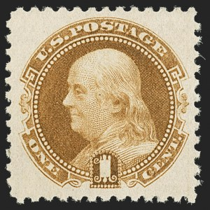 Sale Number 1150, Lot Number 765, 1875 Re-Issue of 1869 Pictorial Issue (Scott 123-133a)1c Brown Orange, 1881 Re-Issue (133a), 1c Brown Orange, 1881 Re-Issue (133a)