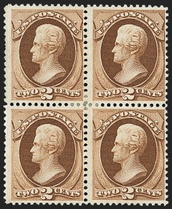 Sale Number 1150, Lot Number 767, 1870-71 National Bank Note Co. Grilled Issue (Scott 134-144)2c Red Brown, H. Grill, Split Grill (135 var), 2c Red Brown, H. Grill, Split Grill (135 var)