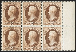 Sale Number 1150, Lot Number 768, 1870-71 National Bank Note Co. Grilled Issue (Scott 134-144)2c Red Brown, H. Grill (135), 2c Red Brown, H. Grill (135)