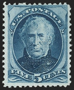 Sale Number 1150, Lot Number 807, 1875 Continental Bank Note Co. Issue (Scott 178-179)5c Blue, With Gill (179c), 5c Blue, With Gill (179c)