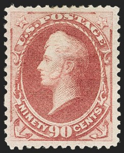 Sale Number 1150, Lot Number 813, 1879 American Bank Note Co. Issue (Scott 182-191)90c Carmine (191), 90c Carmine (191)