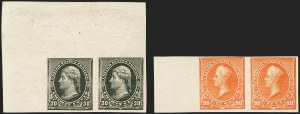 Sale Number 1150, Lot Number 826, 1890-93 Issue (Scott 219-229)1c-90c 1890-93 Issue, Imperforate (219c-229a), 1c-90c 1890-93 Issue, Imperforate (219c-229a)