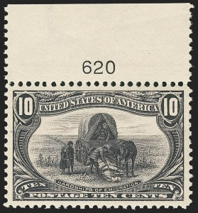 Sale Number 1150, Lot Number 911, 1898 Trans-Mississippi Issue (Scott 285-293)10c Trans-Mississippi (290), 10c Trans-Mississippi (290)