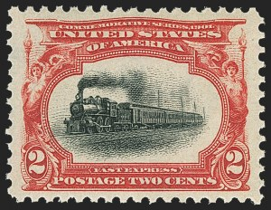 Sale Number 1150, Lot Number 929, 1901 Pan-American Issue (Scott 294-299)2c Pan-American (295), 2c Pan-American (295)