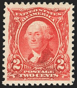 Sale Number 1150, Lot Number 942, 1902-08 Perforated Issues (Scott 300-313)2c Carmine (301), 2c Carmine (301)
