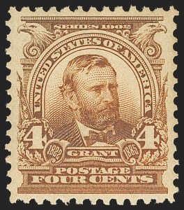 Sale Number 1150, Lot Number 944, 1902-08 Perforated Issues (Scott 300-313)4c Brown (303), 4c Brown (303)