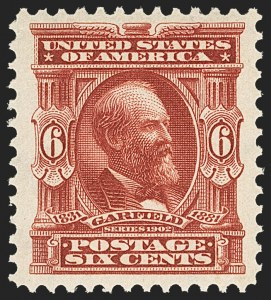 Sale Number 1150, Lot Number 946, 1902-08 Perforated Issues (Scott 300-313)6c Claret (305), 6c Claret (305)