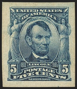 Sale Number 1150, Lot Number 968, 1902-08 Imperforate Issues incl. Scott 341A (Scott 314-315)5c Blue, Imperforate (315), 5c Blue, Imperforate (315)