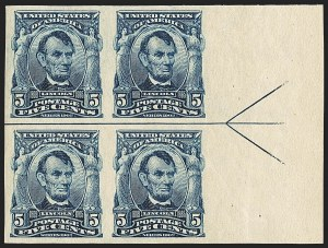 Sale Number 1150, Lot Number 971, 1902-08 Imperforate Issues incl. Scott 341A (Scott 314-315)5c Blue, Imperforate (315), 5c Blue, Imperforate (315)