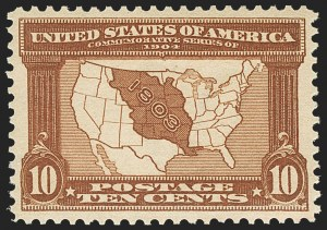 Sale Number 1150, Lot Number 987, 1904 Louisiana Purchase Issue (Scott 323-327)