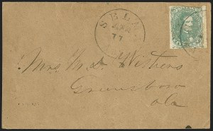 Sale Number 1151, Lot Number 1828, Railroads and Telegraphs5c Green, Stone 1-2 (1), 5c Green, Stone 1-2 (1)