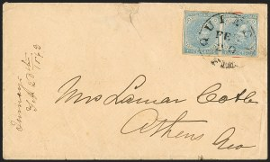 Sale Number 1151, Lot Number 1858, Confederate Group Lots5c Light Blue, Blue, Cover Balance (6-7), 5c Light Blue, Blue, Cover Balance (6-7)