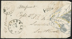 Sale Number 1153, Lot Number 2037, Florida Town Postmarks with Paid and Due Markings, Adamsville thru Mt. PleasantGainesville Fla. Jan. 6, Gainesville Fla. Jan. 6