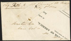 "Sale Number 1153, Lot Number 2055, Florida Town Postmarks with Paid and Due Markings, Adamsville thru Mt. Pleasant""Mt. Pleasant Fla. Feby 1st, 1864"", ""Mt. Pleasant Fla. Feby 1st, 1864"""