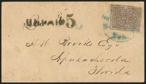 Sale Number 1153, Lot Number 2101, Postmasters ProvisionalsNashville Tenn., 5c Violet Brown (61X5), Nashville Tenn., 5c Violet Brown (61X5)