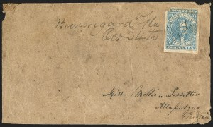 Sale Number 1153, Lot Number 2108, General Issues on Cover, Scott 1-710c Blue, Paterson (2), 10c Blue, Paterson (2)