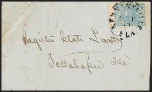 Sale Number 1153, Lot Number 2110, General Issues on Cover, Scott 1-710c Blue, Paterson (2), 10c Blue, Paterson (2)