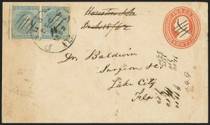Sale Number 1153, Lot Number 2117, General Issues on Cover, Scott 1-75c Blue, Local (7), 5c Blue, Local (7)