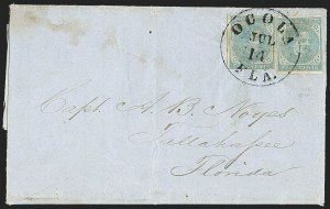 Sale Number 1153, Lot Number 2124, General Issues on Cover, Scott 1-75c Blue, Local (7), 5c Blue, Local (7)