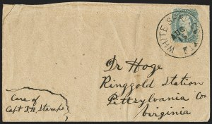 Sale Number 1153, Lot Number 2144, General Issues on Cover, Scott 9-1310c Blue, Die A (11), 10c Blue, Die A (11)