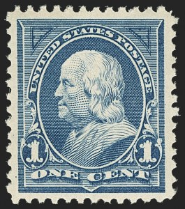 Sale Number 1156, Lot Number 3425, 1894-97 Bureau Issues (Scott 246-284)1c Blue (264), 1c Blue (264)