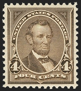Sale Number 1156, Lot Number 3426, 1894-97 Bureau Issues (Scott 246-284)4c Dark Brown (269), 4c Dark Brown (269)