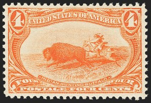 Sale Number 1156, Lot Number 3441, 1898 Trans-Mississippi, 1901 Pan-American Issues (Scott 285-299)4c Trans-Mississippi (287), 4c Trans-Mississippi (287)