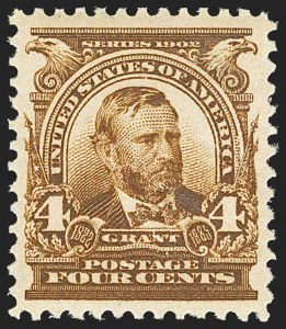 Sale Number 1156, Lot Number 3461, 1902-08 Issues (Scott 300-320)4c Brown (303), 4c Brown (303)