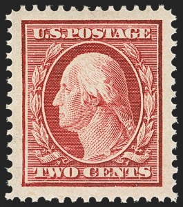 Sale Number 1156, Lot Number 3497, 1908-10 Washington-Franklin Issues (Scott 331-356)2c Carmine (332), 2c Carmine (332)