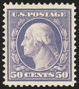 Sale Number 1156, Lot Number 3509, 1908-10 Washington-Franklin Issues (Scott 331-356)50c Violet (341), 50c Violet (341)