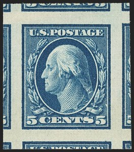 Sale Number 1156, Lot Number 3514, 1908-10 Washington-Franklin Issues (Scott 331-356)1c-5c 1908-09 Issue, Imperforate (343-347), 1c-5c 1908-09 Issue, Imperforate (343-347)